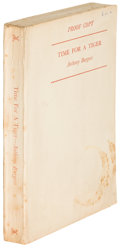 Books:Literature 1900-up, Anthony Burgess. Time for a Tiger. London: [1956]. Firstedition, proof....