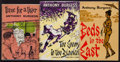 Books:Literature 1900-up, Anthony Burgess. The Long Day Wanes Trilogy. London:[1956-1959]. First editions.... (Total: 3 Items)