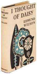 Books:Literature 1900-up, Edmund Wilson. I Thought of Daisy. New York: 1929. Firstedition....
