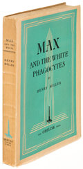Books:Literature 1900-up, Henry Miller. Max and the White Phagocytes. Paris: [1938].First edition....