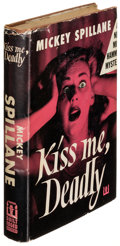 Books:Mystery & Detective Fiction, Mickey Spillane. Kiss Me, Deadly. New York: 1952. Firstedition....