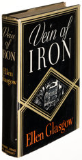 Books:Fiction, Ellen Glasgow. Vein of Iron. New York: [1935]. Firstedition, inscribed....