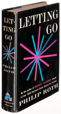 Books:Literature 1900-up, Philip Roth. Letting Go. New York: [1962]. First edition, inscribed to literary critic Van Wyck Brooks and his wife....