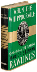Books:Literature 1900-up, Marjorie Kinnan Rawlings. When the Whippoorwill. New York:1940. First edition....