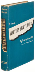 Books:Literature 1900-up, George Orwell. Nineteen Eighty-Four. New York: [1949]. FirstU. S. edition....