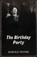 Books:Literature 1900-up, Harold Pinter. The Birthday Party. London: [1959]. Firstedition....