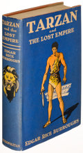 Books:Science Fiction & Fantasy, Edgar Rice Burroughs. Tarzan and the Lost Empire. New York:[1929]. First edition....