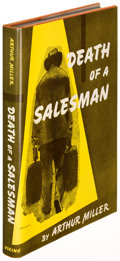Books:Literature 1900-up, Arthur Miller. Death of a Salesman. New York: 1949. Firstedition....