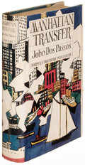 Books:Literature 1900-up, John Dos Passos. Manhattan Transfer. New York: 1925. Firstedition....