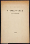 Books:Literature 1900-up, Kingsley Amis. A Frame of Mind. Reading: 1953. Firstedition, one of 150 numbered copies. ...