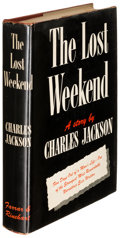 Books:Literature 1900-up, Charles Jackson. The Lost Weekend. New York: [1944]. Firstedition.. ...