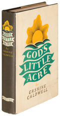 Books:Literature 1900-up, Erskine Caldwell. God's Little Acre. New York: 1933. Firstedition....