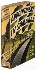 Books:Literature 1900-up, John O'Hara. Appointment in Samarra. New York: [1934]. Firstedition, advance copy....