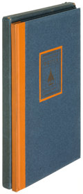 Books:Literature 1900-up, Sherwood Anderson. The Modern Writer. San Francisco: 1925.First edition, deluxe issue, limited to fifty copies on J...