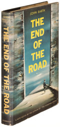 Books:Literature 1900-up, John Barth. The End of the Road. Garden City: 1958. Firstedition, signed....