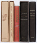 Books:Literature 1900-up, John Barth. Group of Five Signed-Limited Books. Garden City and NewYork: [1966-1982]. First editions.. ... (Total: 5 Items)