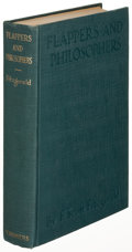 Books:Literature 1900-up, F. Scott Fitzgerald. Flappers and Philosophers. New York:1920. First edition....