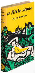 Books:Literature 1900-up, Paul Bowles. A Little Stone. London: [1950]. First edition,inscribed....