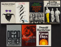 Books:Fiction, Donald Barthelme. Group of Seven Books. Boston and New York:1964-1976. First editions, two review copies, four signed or in...(Total: 7 Items)