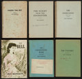 Books:Literature 1900-up, Iris Murdoch. Group of Six Chatto and Windus Books. London:[1954-1962]. First editions, advance copies in wraps, one signed...(Total: 6 Items)