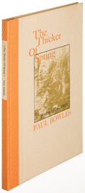 Books:Literature 1900-up, Paul Bowles. The Thicket of Spring: Poems 1926-1969. LosAngeles: 1972. First edition, limited, signed....