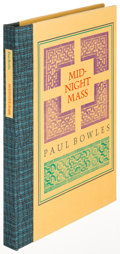 Books:Literature 1900-up, Paul Bowles. Midnight Mass. Santa Barbara: 1981. Firstedition, limited, signed....