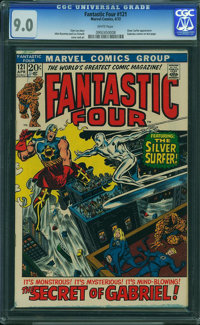 Fantastic Four #121 - WESTPORT COLLECTION (Marvel, 1972) CGC VF/NM 9.0 White pages