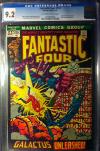 Fantastic Four #122 - WESTPORT COLLECTION (Marvel, 1972) CGC VF/NM 9.0 Off-white to white pages