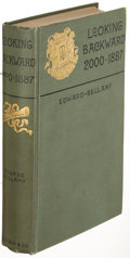 Books:Literature 1900-up, Edward Bellamy. Looking Backward. 2000-1887. Boston: 1888.First edition....