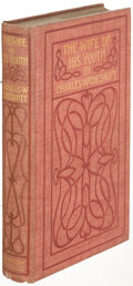 Books:Literature Pre-1900, Charles W. Chesnutt. The Wife of His Youth. Boston and New York: 1899. First edition....