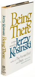 Books:Literature 1900-up, Jerzy Kosinski. Being There. New York: [1970]. Firstedition, inscribed....