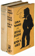 Books:Fiction, Irvin S. Cobb. Old Judge Priest [and:] Down Yonder with Judge Priest. New York: [1916, 1932]. First editions... (Total: 2 Items)