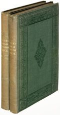 Books:Literature Pre-1900, Nathaniel Hawthorne. Mosses from an Old Manse. London: 1846.First edition, London issue.... (Total: 2 Items)