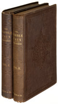 Books:Literature Pre-1900, Nathaniel Hawthorne. The Marble Faun... Boston: 1852. Firstedition, American issue, second printing.... (Total: 2 Items)