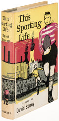 Books:Literature 1900-up, David Storey. This Sporting Life. [London: 1960]. Firstedition....