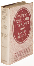 Books:Literature 1900-up, Fannie Hurst. Every Soul Hath Its Song. New York: [1916].First edition....