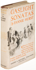 Books:Literature 1900-up, Fannie Hurst. Gaslight Sonatas. New York: [1918]. Firstedition....