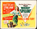 Books:Furniture & Accessories, [Mickey Spillane]. Mickey Spillane's Personal I, the JuryHalf Sheet Movie Poster....