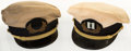 Miscellaneous:Ephemera, [Mickey Spillane]. Pair of Captain Yacht Hats. Circa 1985....(Total: 2 Items)