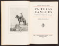 Books:Americana & American History, Walter Prescott Webb. The Texas Rangers: A Century ofFrontier Defense. Boston and New York: 1935. First edi...