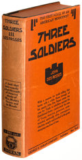 Books:Literature 1900-up, John Dos Passos. Three Soldiers. New York: [1921]. First edition....
