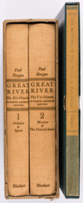 Books:Americana & American History, Paul Horgan. The Return of the Weed [and]: GreatRiver... New York: [1936-1954]. First editions, signed limi...(Total: 3 Items)