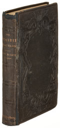 Books:Americana & American History, Randolph B. Marcy. The Prairie Traveler. New York: 1859.First edition....