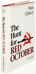 Books:Literature 1900-up, Tom Clancy. The Hunt for Red October. Annapolis: [1984].First edition....