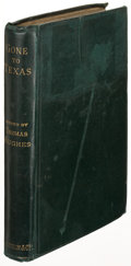 Books:Americana & American History, Thomas Hughes, editor. G. T. T. Gone to Texas. Lettersfrom our Boys. London: 1884. First edition....