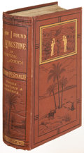 Books:Literature 1900-up, Henry M. Stanley. How I Found Livingstone in Central Africa.London: 1872. First edition, binding repaired at crown....