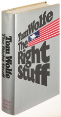Books:Literature 1900-up, Tom Wolfe. The Right Stuff. New York: 1979. First edition,signed....