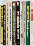 Books:Mystery & Detective Fiction, Elmore Leonard. Group of Eleven Paperback Books. New York andGreenwich, CT: [1954-1980]. Mixed editions, most paperback ori...(Total: 11 Items)