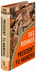 Books:Literature 1900-up, Sax Rohmer. President Fu Manchu. Garden City: 1936. Firstedition....