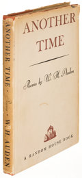 Books:Literature 1900-up, W. H. Auden. Another Time. New York: [1940]. First edition,inscribed....